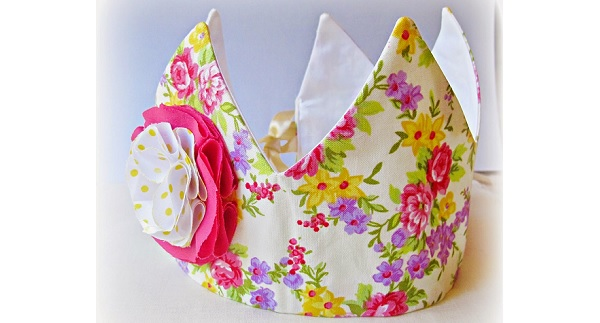 Tutorial: Fabric princess or prince dress-up crown
