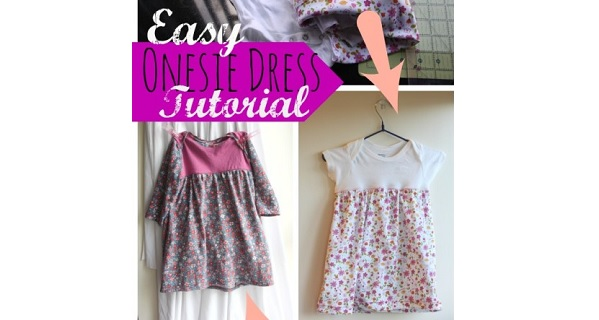 Tutorial: Easy onesie dress