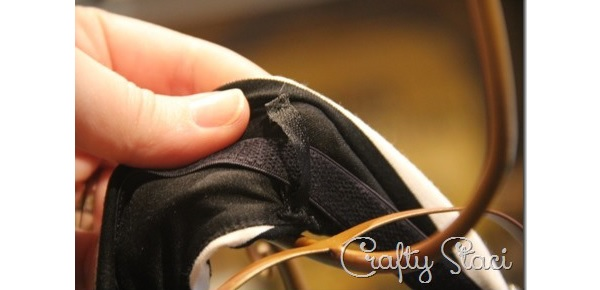 Tutorial: Add bra strap anchors to a sleeveless dress or top