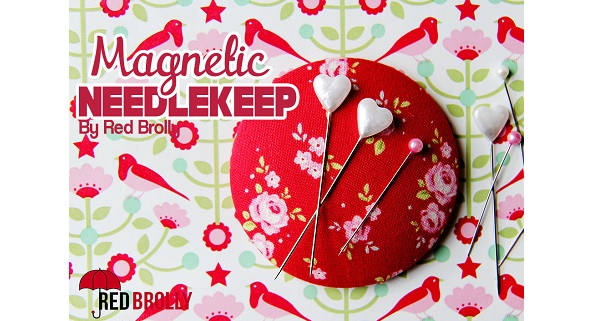 Tutorial: Fabric covered magnetic pinkeeper