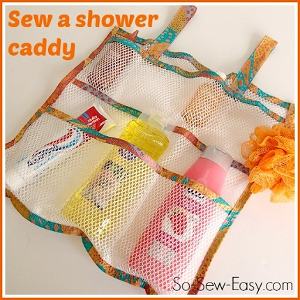 Tutorial: Mesh shower caddy