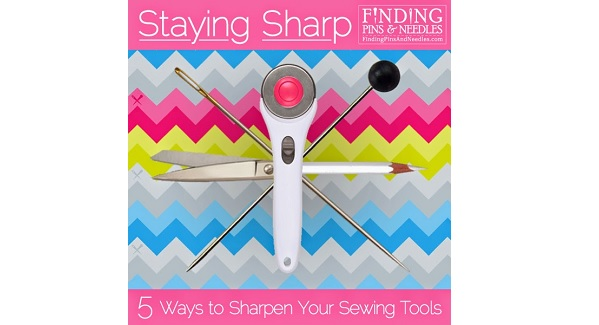 5 products to keep your sewing tools sharp