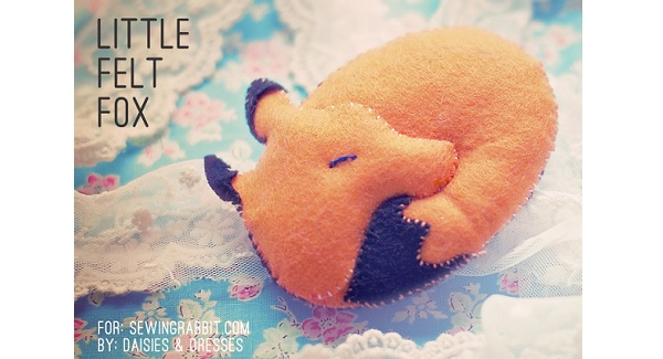 Free pattern: Little Felt Fox