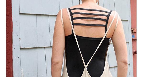 Tutorial: DIY cage bra top