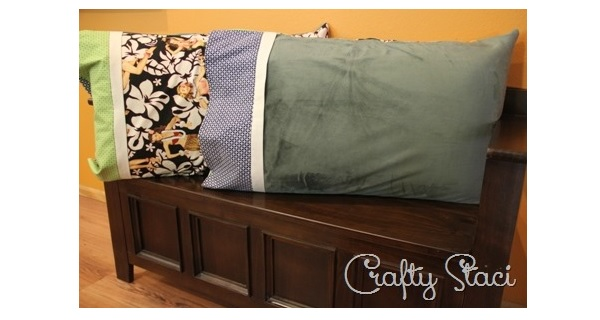 Tutorial: Hot and cold pillowcase