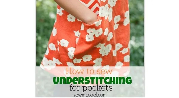 Tutorial: Understitch your pockets to keep the lining inside