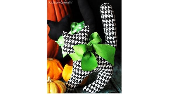 Free pattern: Halloween black cat softie