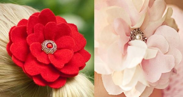 Tutorial: How to make a fabric camellia