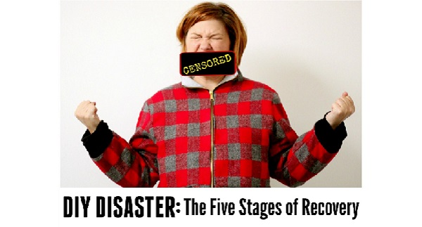Alida's 5 stages of recovery after a sewing disaster