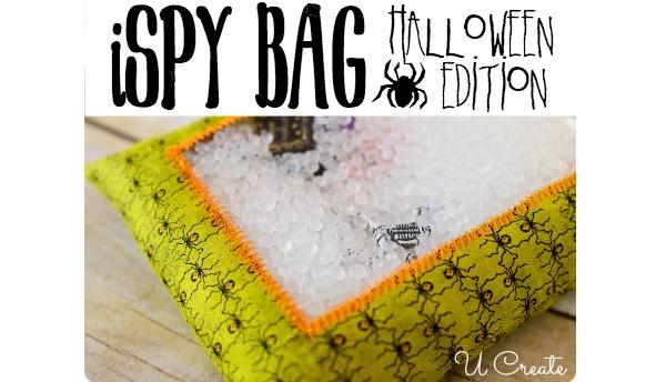 Tutorial: Halloween I SPY bag game