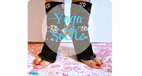 Tutorial: DIY yoga socks