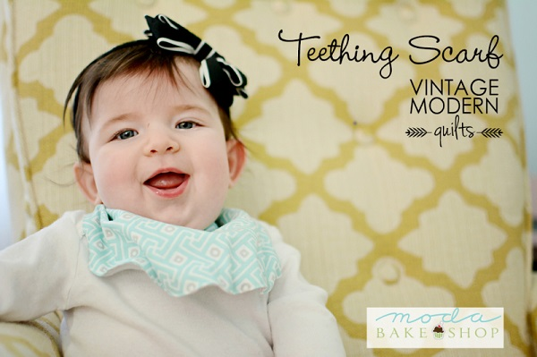 Tutorial: Teething scarf