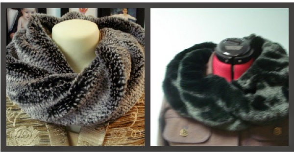 Tutorial Twisted Faux Fur Infinity Scarf Sewing