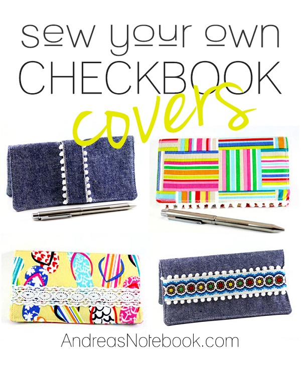 Tutorial: Sew a simple checkbook cover