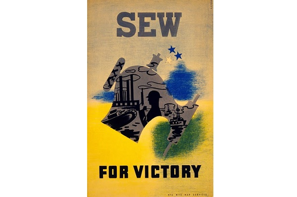 Homefront fashion and sewing during WWII