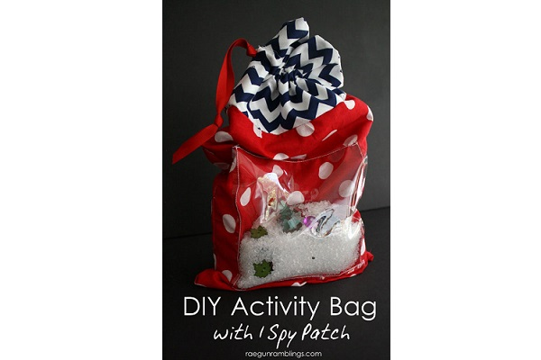 Tutorial: I Spy activity bag