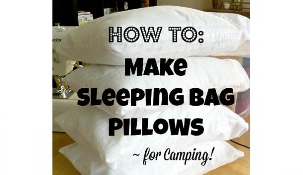 Tutorial: Sleeping bag or travel pillow