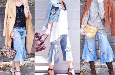 DIY-Denim-Culottes-3-Ways-to-Wear-them-into-Fall1