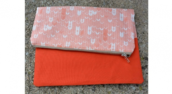 Quilting-Fabric-Fold-Over-Clutch