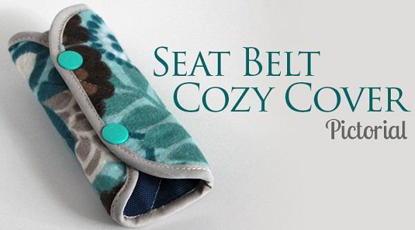 Tutorial: Cozy seat belt cover