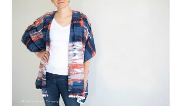 Tutorial: Easy kimono cardigan