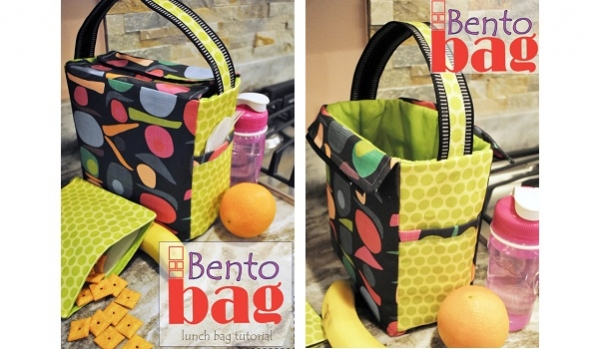 Tutorial: Bento insulated lunch bag