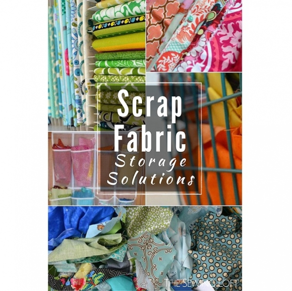 Tame your fabric scrap stash with these storage tips