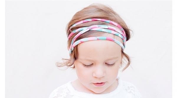 Tutorial: Super easy rolled knit fabric headbands