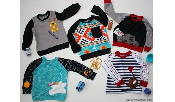 Tutorial: 5 easy ways to make fun pockets for kids clothes