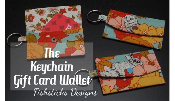 Tutorial: Key chain gift card wallet