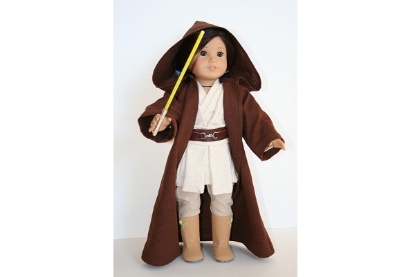 Tutorial: Star Wars costume for an American Girl doll