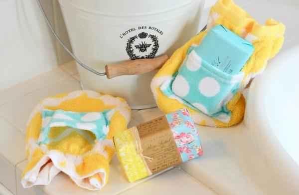 Tutorial: Vintage soap bath mitt