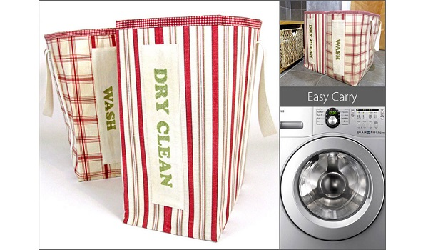 Tutorial Extra large laundry tote bins