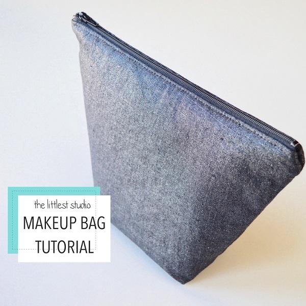 Tutorial: Simple makeup bag