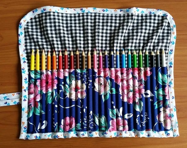 Tutorial: Adult coloring book pencil roll