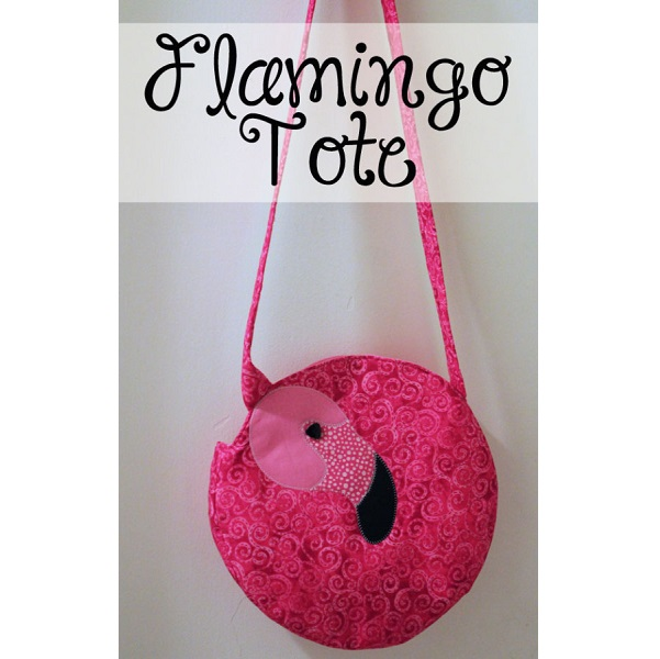 Free pattern: Flamingo tote