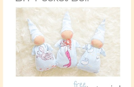 Free pattern: Waldorf pocket doll