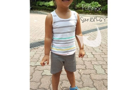 Free pattern: Girls tank top