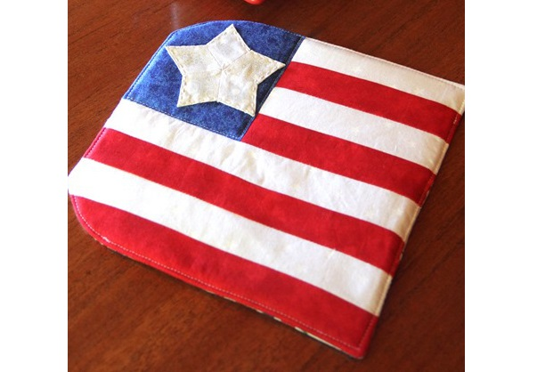 Tutorial: Stars and Stripes hot pad