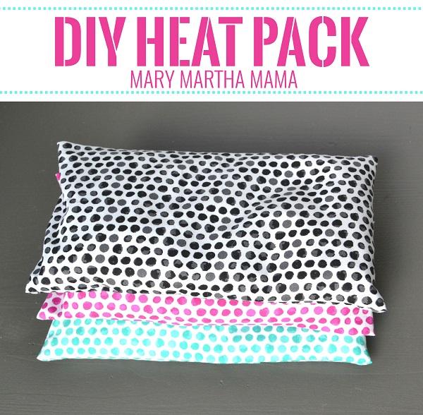 Tutorial: DIY rice-filled heat pack