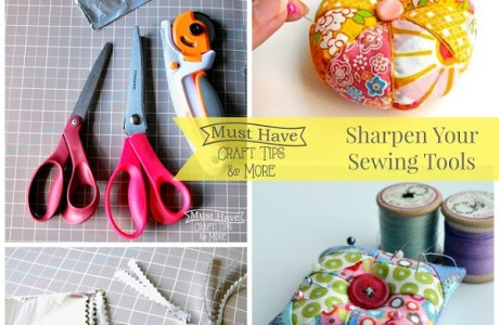 Tips for keeping your sewing tools sharpened