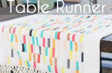 Tutorial: Fringe table runner