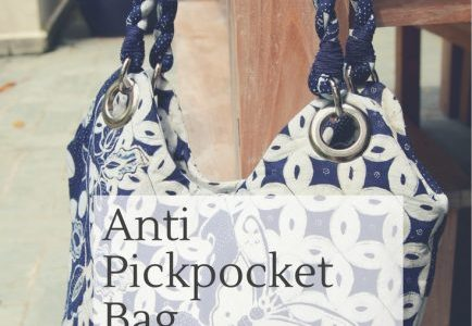 Free pattern: Anti Pickpocket Bag