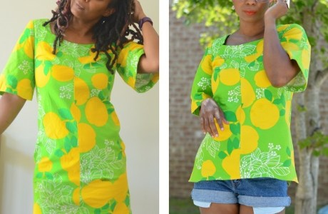 Tutorial: Make a tunic from a vintage dress