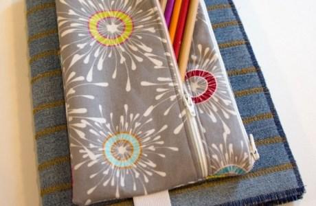 Tutorial: 2-pocket pencil pouch