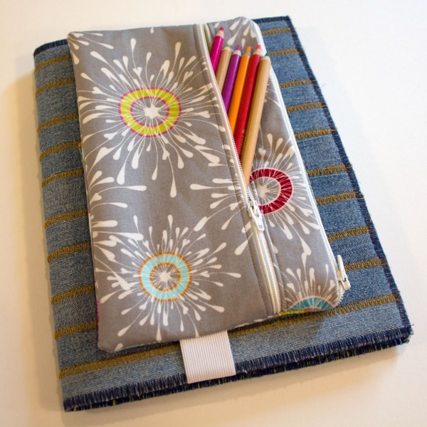 Tutorial: 2-pocket pencil pouch