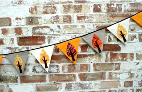 Tutorial: Autumn tree bunting