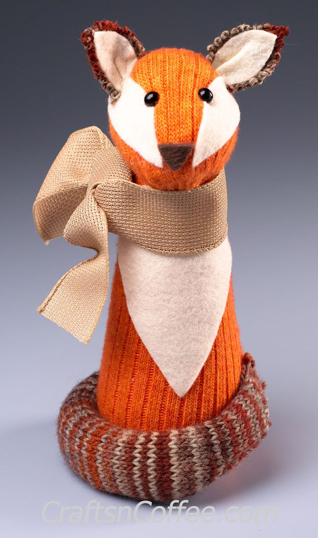 Tutorial No Sew Woodland Sock Fox Sewing