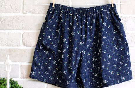 Free pattern: Shorts for tweens