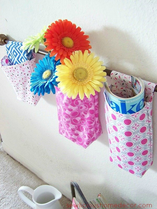 Hanging Wall Organizers How To Make A Hanging Wall Organizer {sewing tutorial}